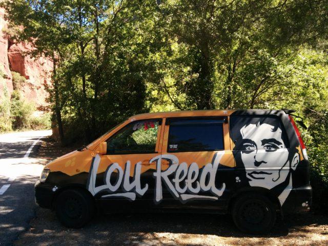 furgoneta Lou Reed Siurana
