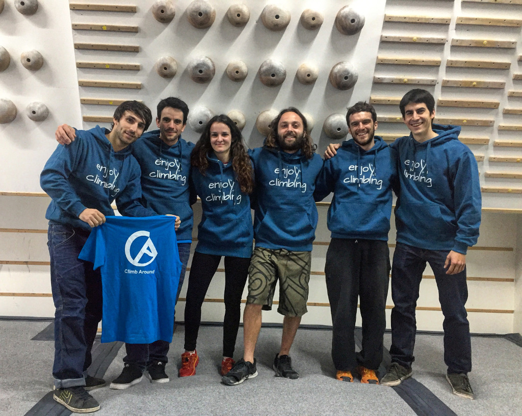 El Fanatic Team de Climb Around