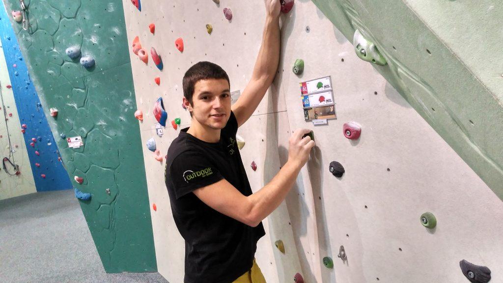 Marc Giol escalador y route setter