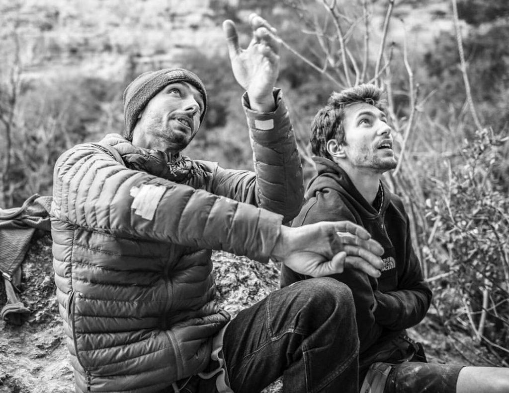 Stefano Ghisolfi y Jacopo Larcher en La Rambla