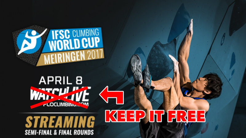 IFSC Keep the streaming free