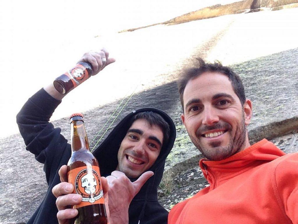 Ignacio Mulero escalador La Pedriza