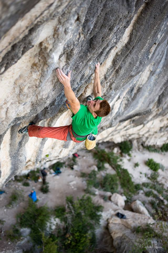 Seb Bouin escalador