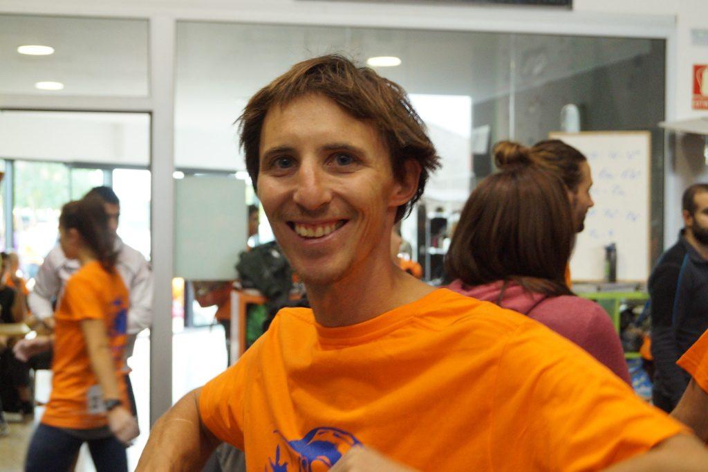 Klemen Becan en el Boulder Indoor Festival 2016