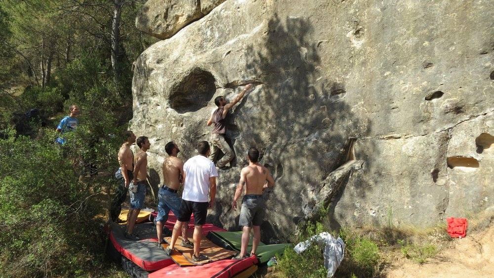 boulder en Alcañiz