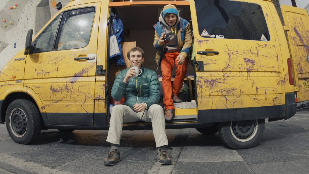 Cook+Climb furgoneta, cocina y escalada