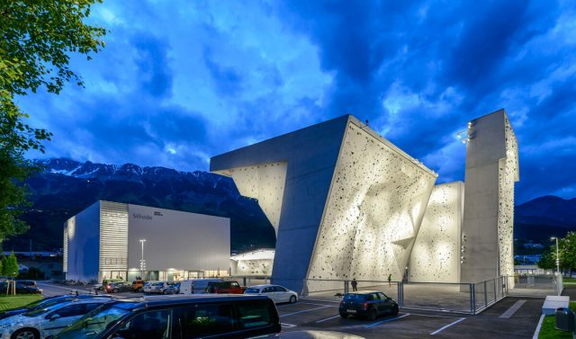 Vista general Kletterzentrum Innsbruck