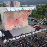 Kletterzentrum Innsbruck muro competición escalada exterior