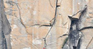 Alex Honnold Freerider The Monster section El Capitan