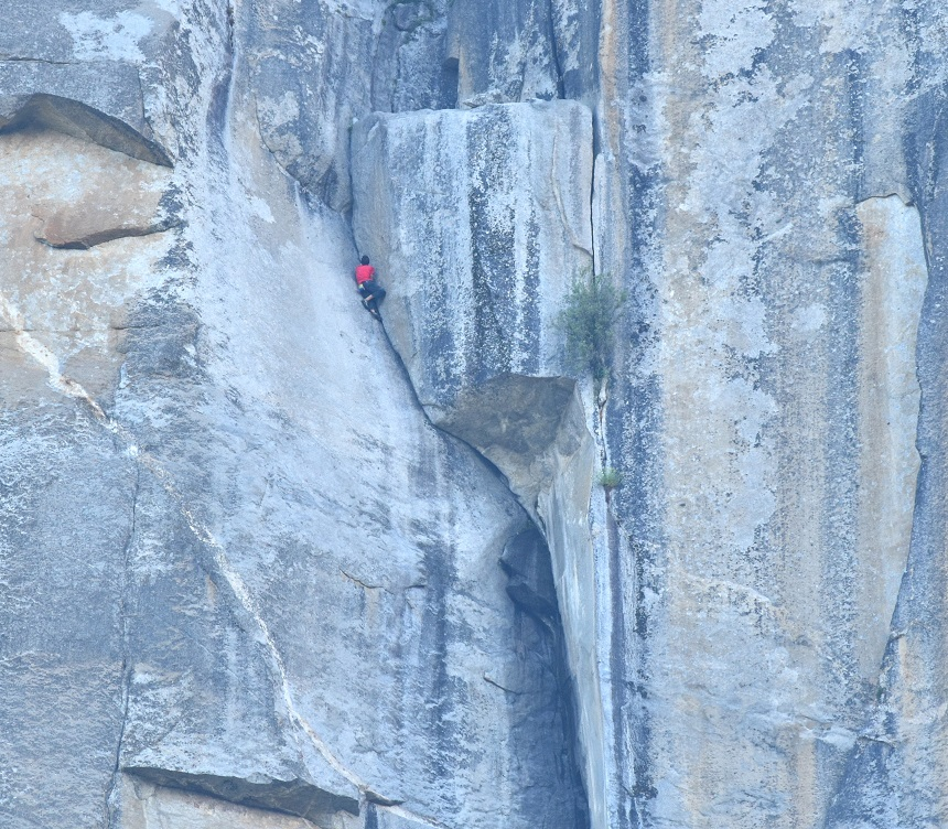 Alex Honnold 'The Block' 'Freerider' El Capitan