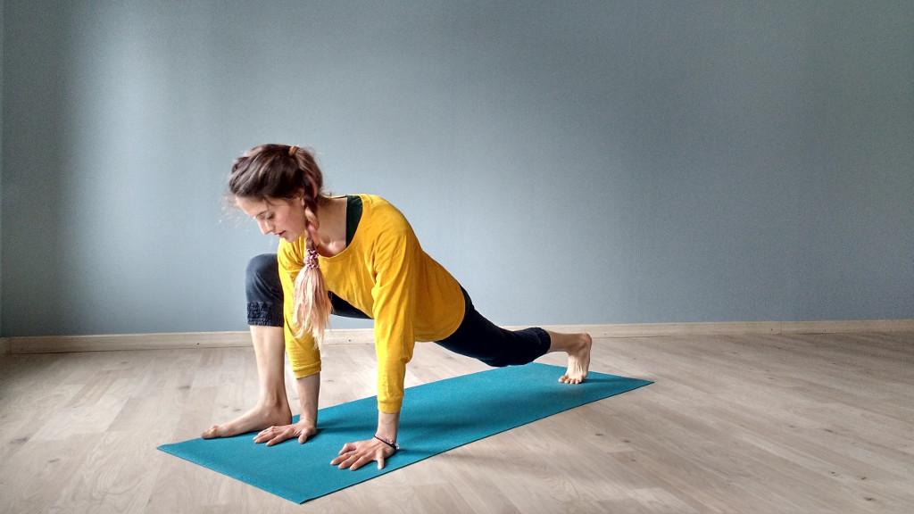 Ari Pallé yoga Utthan Pristhasana