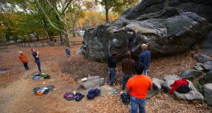 Boulder en Nueva York Rat Rock
