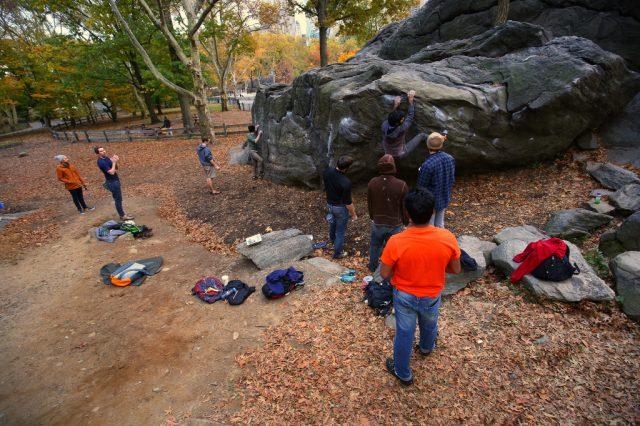 Boulder en Nueva York Rat Rock