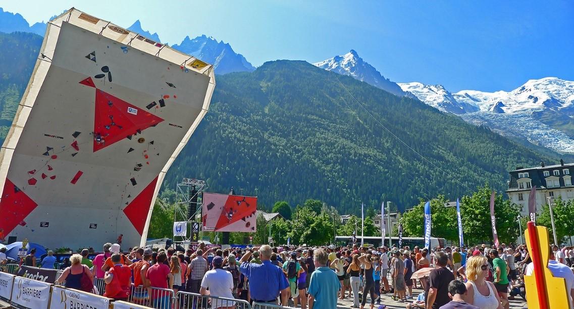 prueba Copa del Mundo de Dificultad en Chamonix