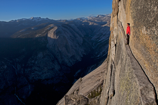 Alex Honnold Thank God Ledge
