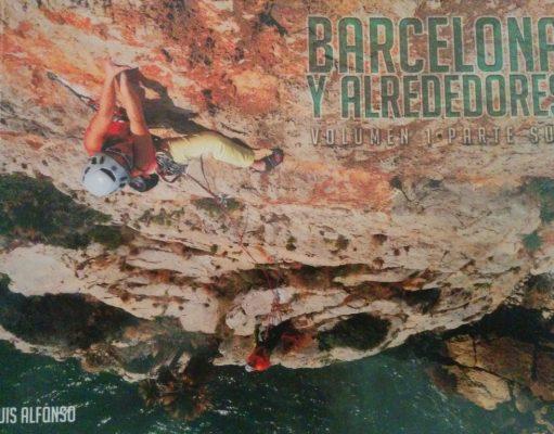 portada nueva guía escalada Barcelona