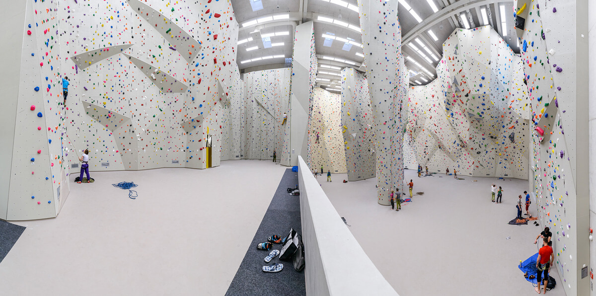 Espacio interior Kletternzentrum Innsbruck