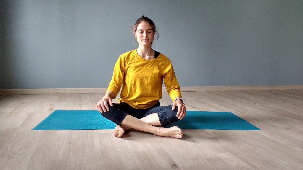 Ari Pallé Yoga Sukhasana