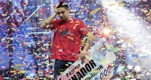 Sergio Verdasco ganador Ninja Warrior