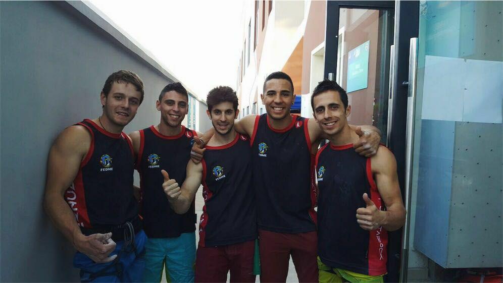 Sergio Verdasco equipo nacional boulder