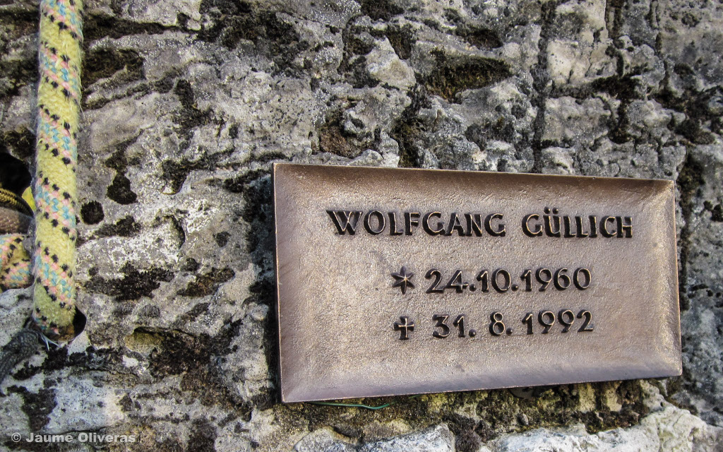 Wolfgang Güllich's grave in Obertrubach in the Franconian Switzerland foto_Jaume Oliveras