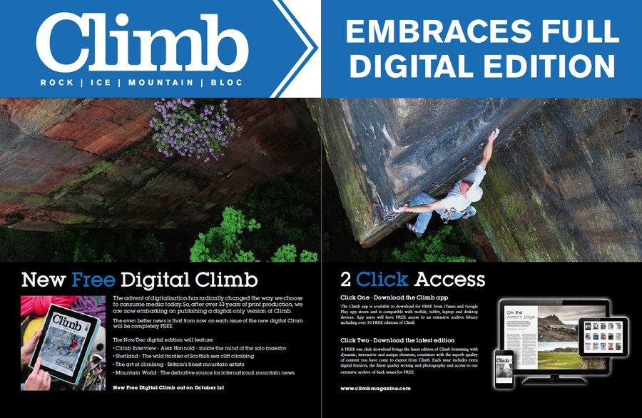 nueva versión digital Climb Magazine