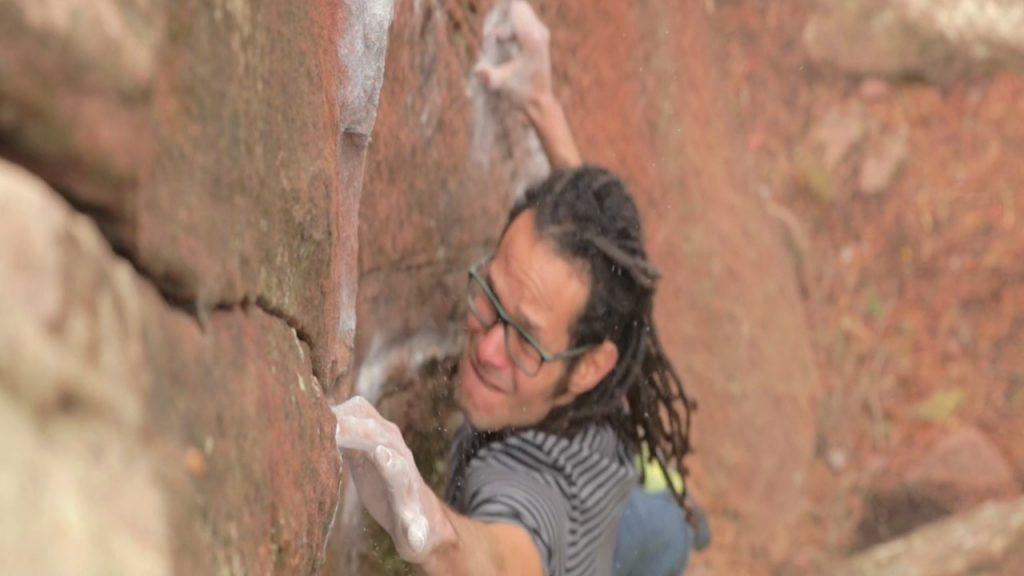 Carlos Catari escalador