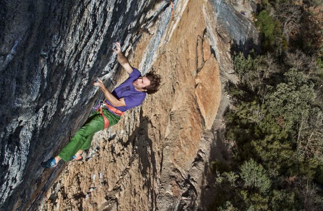 Chris Sharma en Le Blond Oliana