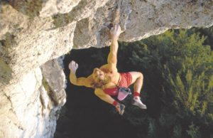 Kurt Albert escalador punto rojo