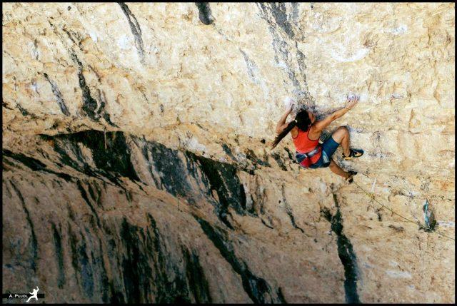 Marta Palou escaladora Gladiator 8b Rodellar
