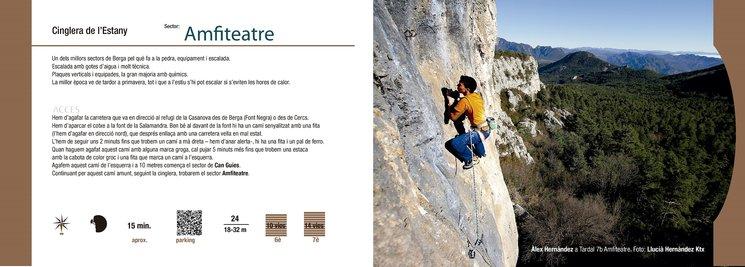 detalle interior guía escalada Berguedà