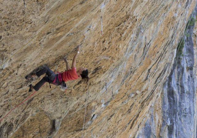 Eilleen Jubes escaladora