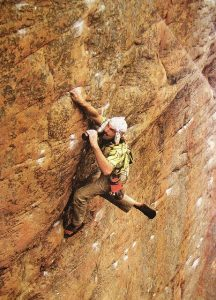 John Sherman Lord of the Rings 5.13 Mount Arapiles (Australia, 1987)