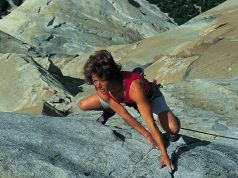 Lynn Hill escalando 'The Nose'