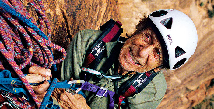 Fred Beckey escalador
