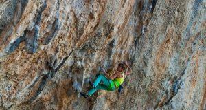 Angy Eiter escaladora 9b