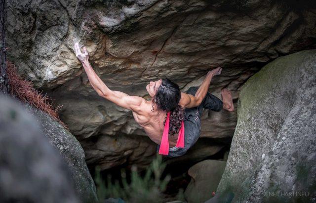 Charles Albert escalador