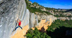 Roger Bailac escalador Margalef