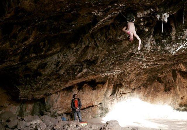 Adam Ondra Climb Free 9a Israel