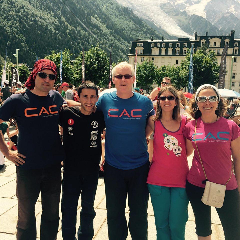 John Ellison en Chamonix