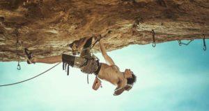 Adam Ondra escalando 'La Teoria del Gesto' 9a