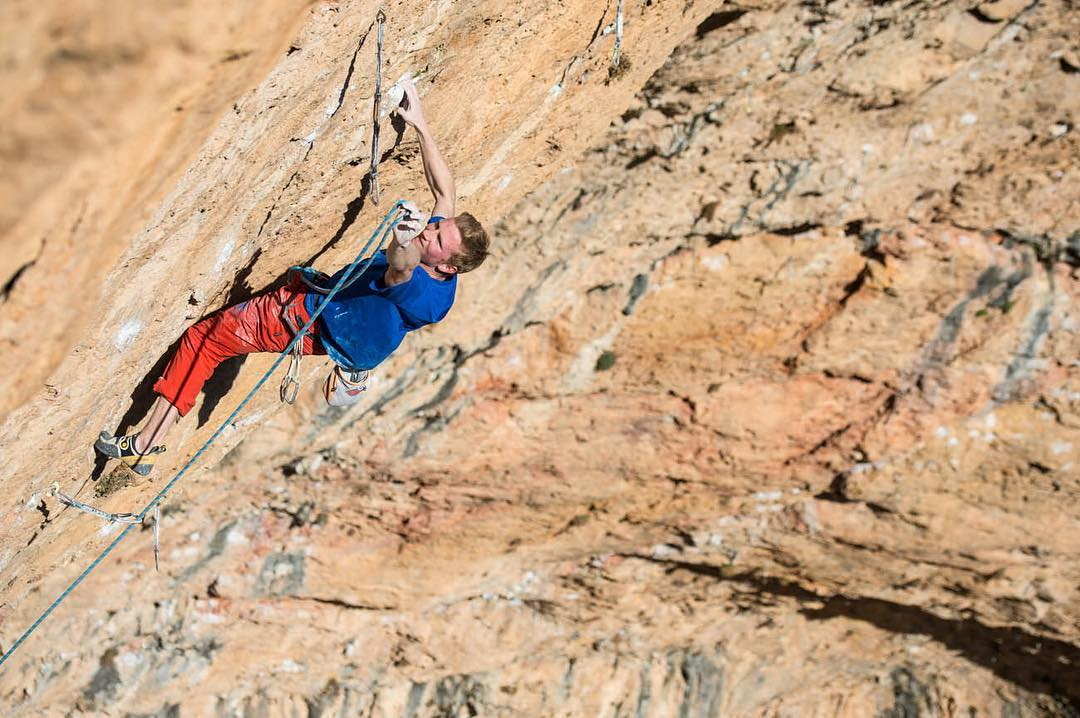 Jakob Schubert 'Stoking the Fire' 9b