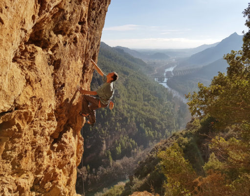 Pete O'Donovan escalando 'L'Amor que Mata' 6b+