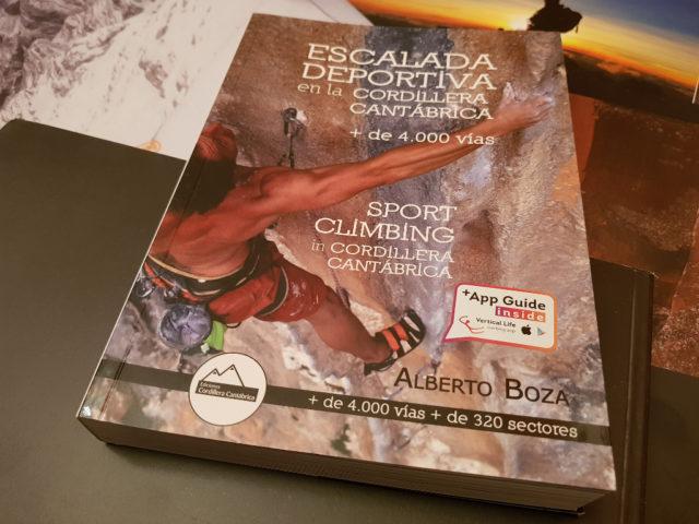guía Escalada deportiva en la Cordillera Cantábrica