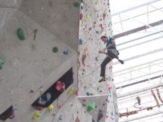 Robbie Phillips caída en escalada