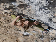 Thomas Blaabjerg en 'Joe Blau' 8c+