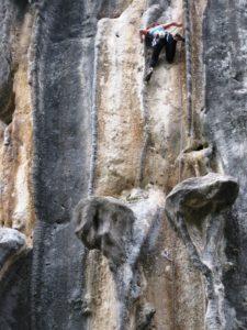 Escalada en Poo de Cabrales