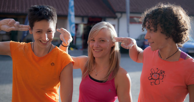 Chicas route setting tour