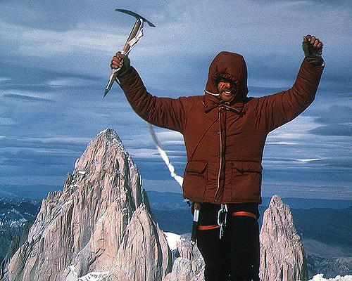 Jim Bridwell en el Cerro Torre