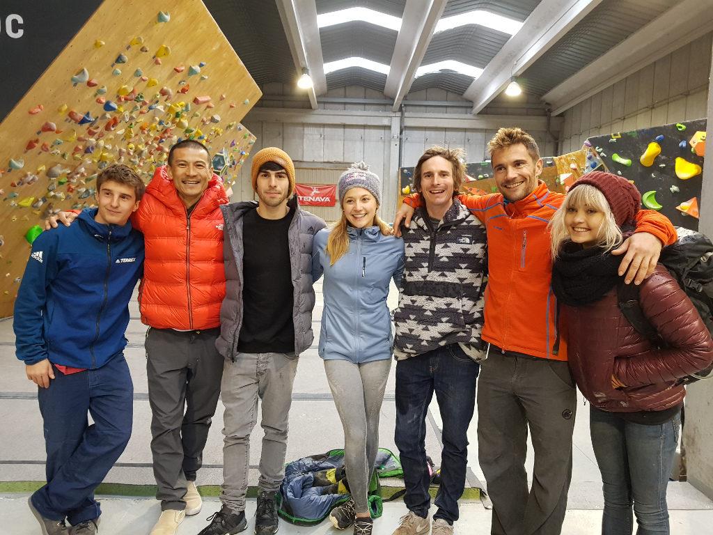 Escaladores internacionales en Monobloc Reus